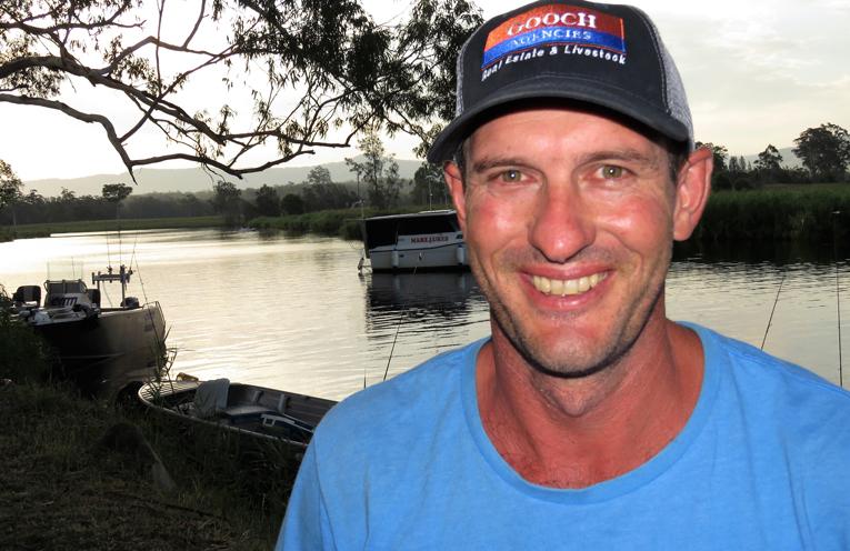Bulahdelah Fishing Club President Darren Carrall.