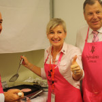 Bob Baldwin Federal Member cooks to raise awareness for breast cancer