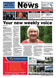 Myall Coast News first edition