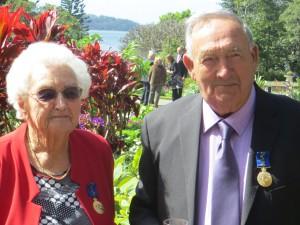 Mavis and Ted Mowbray