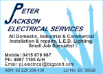 Peter Jackson Electrical Services