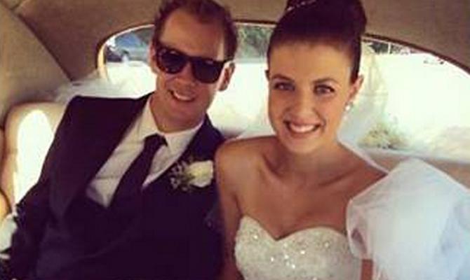 Ryan Messenger and wife Alexandra