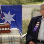 Ron Franks OAM died of a heart attack, he will be missed by Tea Gardens & Hawks Nest