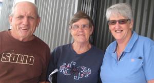 Robert Barry, Lynn Barry, Anita Pinkerton Bulahdelah