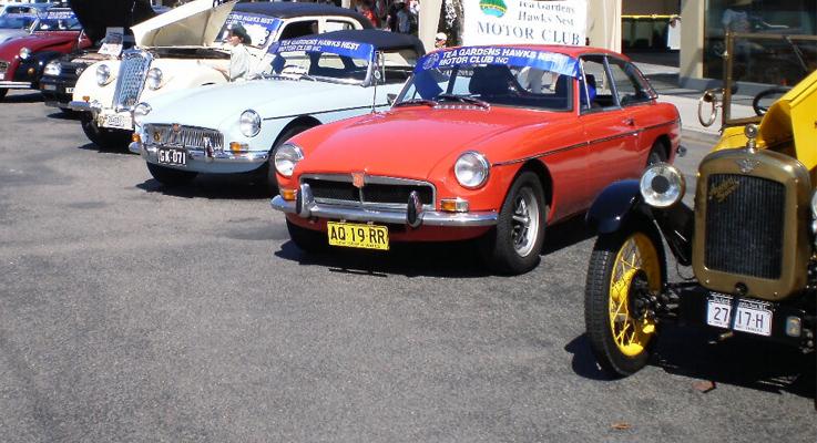 Car Club at Tea Gardens