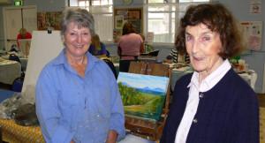 Carol Davies and Pat Foyle.