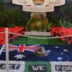 Garden Club at Bulahdelah create ANZAC tribute