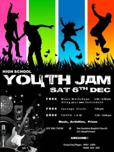 youth jam Tea Gardens