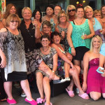 Frocks and Slippers Luncheon for Tea Gardens Library