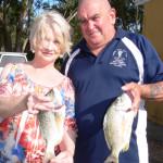 Karen Glynn, Treasurer and Jim MacDonald, President.