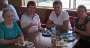 Gwen Bloomfield, Anne Johnson, Jean Ryan, Dorothy Ayling.