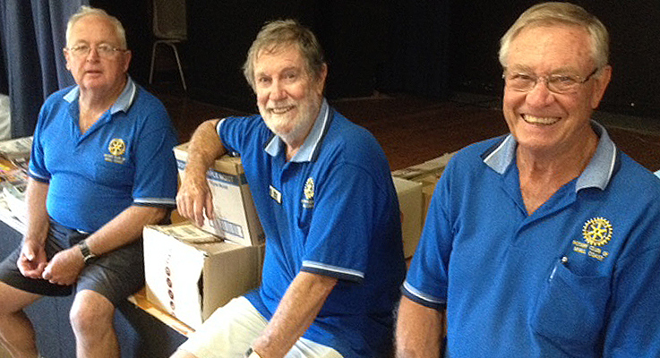 John Taylor Brian Oakley and Ian Mackenzie-Smith