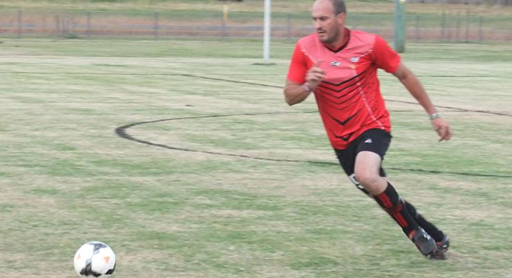 Red RocketsFC player Bushy