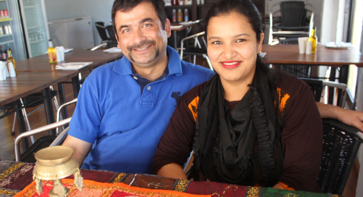 Amrit and Rachana Poudyal Hawks Nest