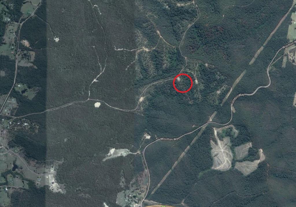 Bulahdelah aerial map 2