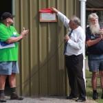 Tea Gardens Men Shed opening