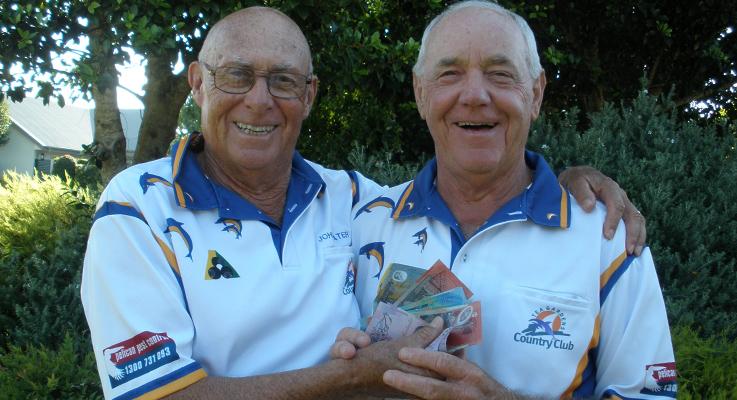 John Slater and Neil Kibble
