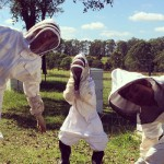 Nabiac beekeeper Anna Campbell, popular within the industry