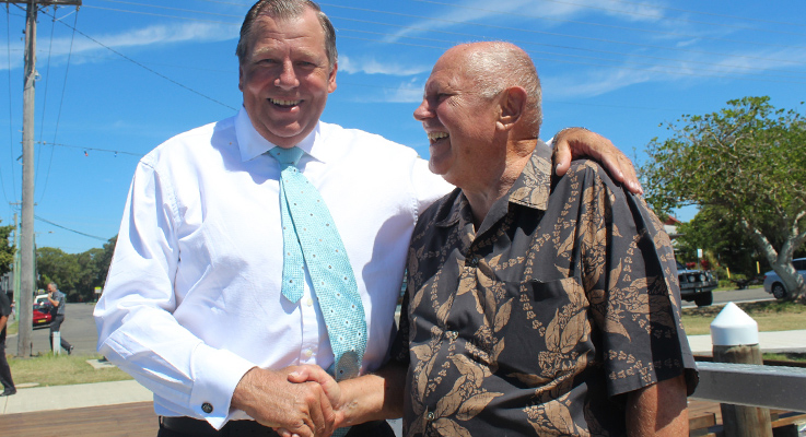 Bob Baldwin and Gordon Grainger
