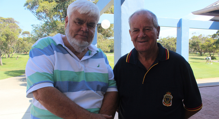 Norm Webber and Barry Whiteman