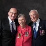 Maxwell Bismire, Noela Bentley and Roy Day.