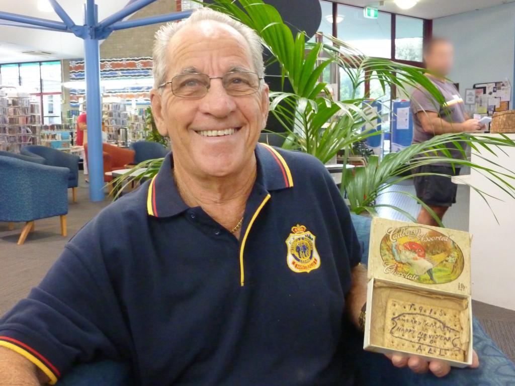 final - Mr John Bonventi Anzac Day display