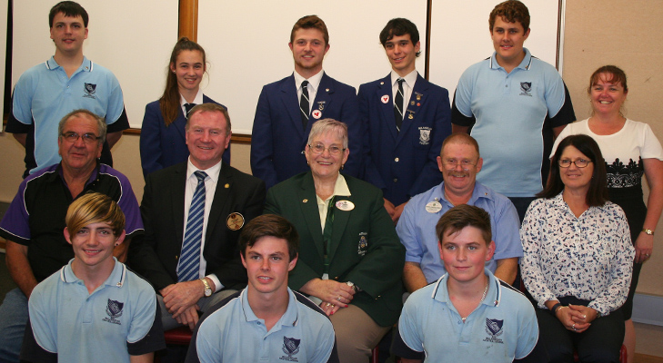 Stephen Bromhead visit to Bulahdelah Central School