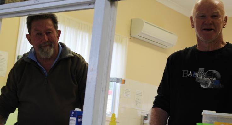 Dave Benson and Ken Smee.