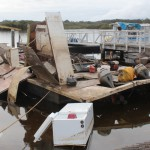 Tea Gardens houseboat recovered