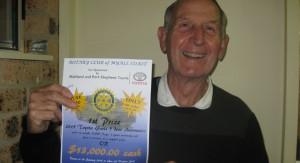 Rotary President Paul Dewar