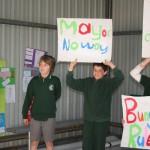 Bungwahl Public School with the Kookaburra Kids