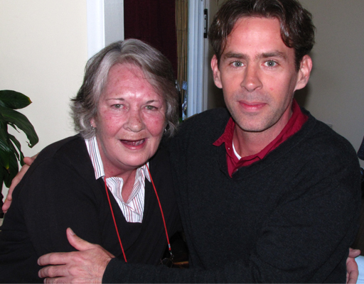 Sandra McBride and Damien Turpin