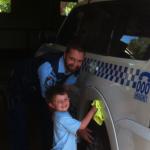 New policeman, Dave Feeney, welcomed to Bulahdelah