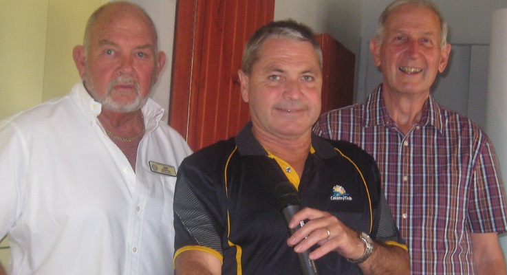 Jim Martin, Warren Gooley and Paul Dewar.