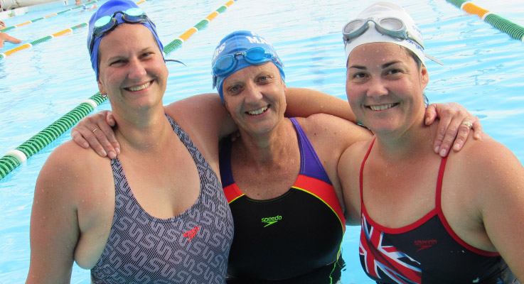 LJ Chester, Jenny Hyde and Kate Maddison