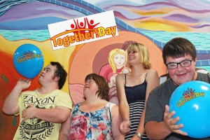Together Day - Shane Zammit, Kelly Burns, Ellie Mugiven and Brent Pilati