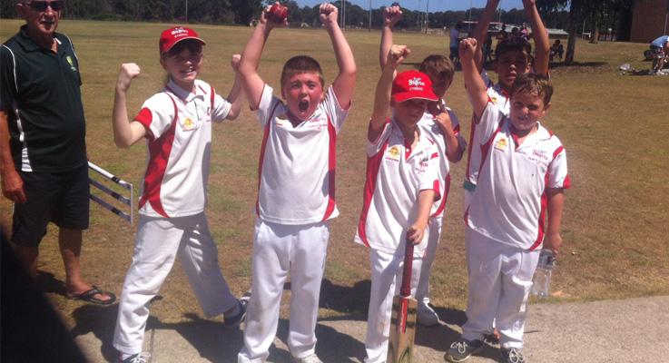 U10s cricket Karuah