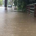 Hunter Region Rivers peak resulting in more water over roads and into homes