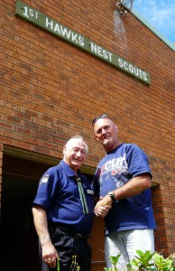 Stan Woodrow and Trevor Jennings