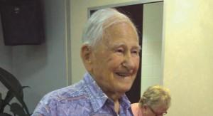 Allan Stewart celebrates his 101st birthday.
