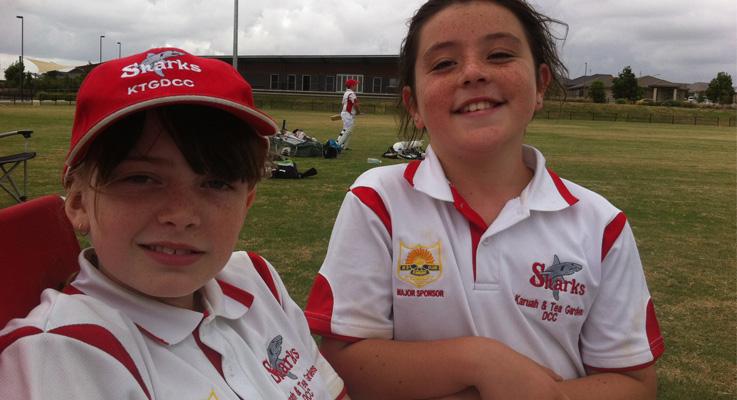 Danielle Woolard and Kaitlyn Smith