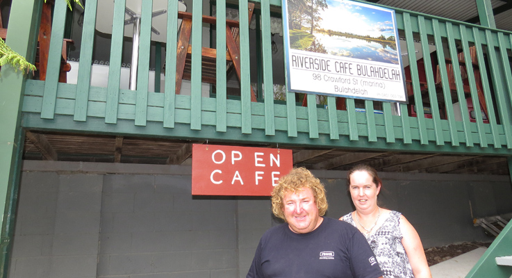Troy and Stacey Harvey looking forward to their new dining venture.