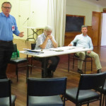 Lyne National Party MP Dr David Gillespie goes head-to-head with Labor Candidate for Lyne Mr Peter Alley.