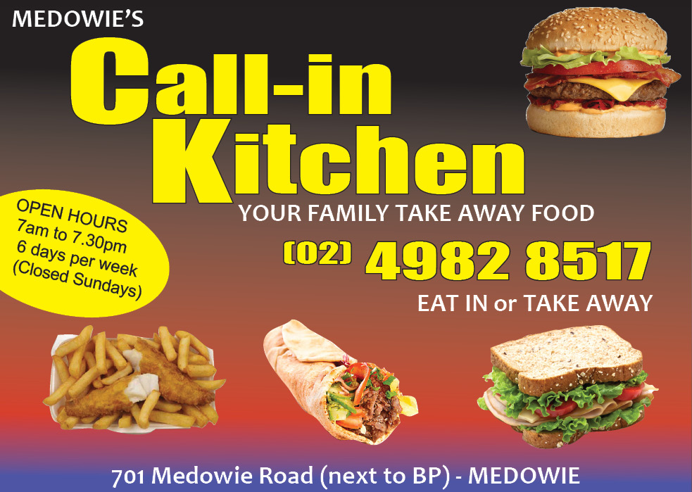 Want your business advertised with Medowie News Of The Area? You get Print media, Social Media and Website New all for ONE LOW PRICE. Email us: medowie@newsofthearea.com.au