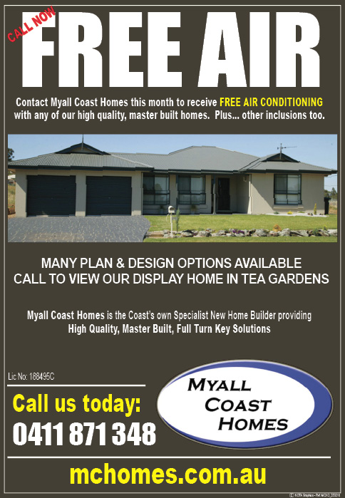 Want your business advertised online with Myall Coast News? With 11,383 page-views over the last one month, you'll reach your online audience & customers with us. Email us today ads@mcnota.com.au