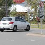 Tea Gardens shopping village needs roundabout