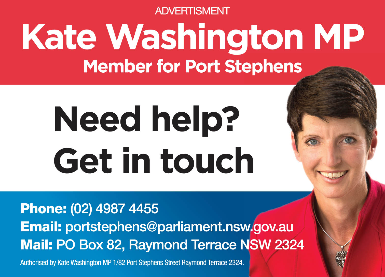 Kate Washington MP Port Stephens