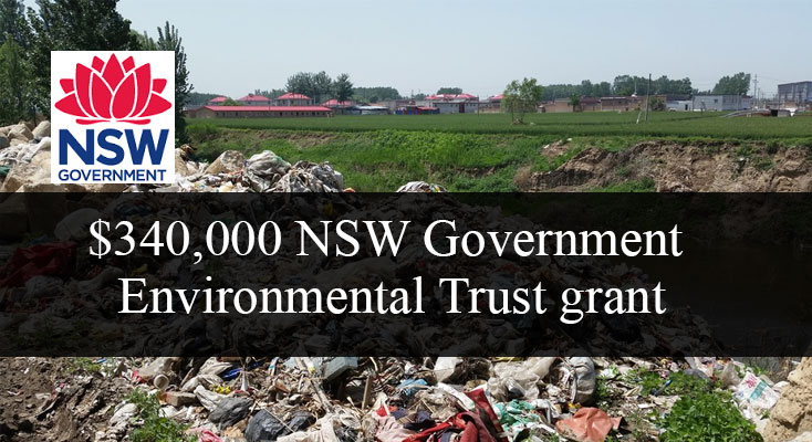 $340,000 NSW Government grant to help keep food and garden waste out of landfill.