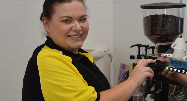 Sportz Cafe in Medowie has proved popular since it's May