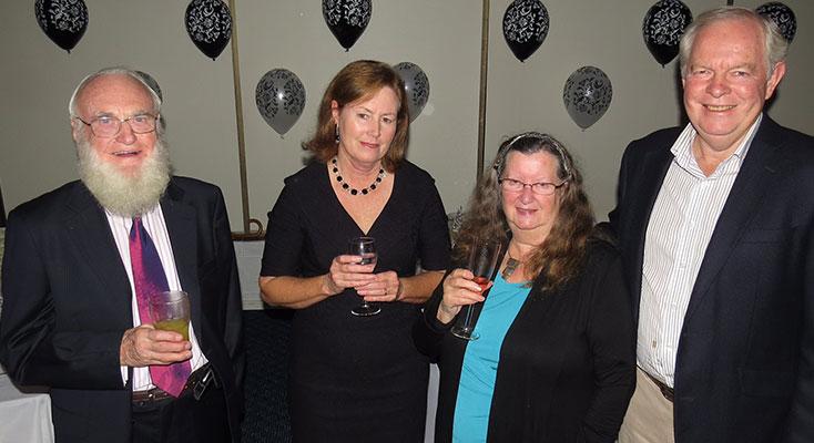Frank Horwill, Lyn Brown, Maureen Horwill, Art Brown.